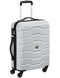 Delsey Accra Polycarbonate 76 cm 4 Wheels Grey Large Hard Body Suitcase