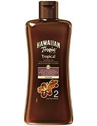 Hawaiian Tropic - Tanning Oil - Aceite solar bronceador, 200 ml