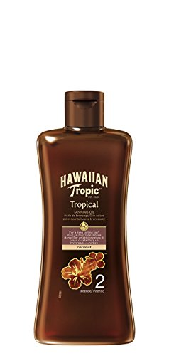 Hawaiian Tropic Tropical Tanning Oil Coconut Sonnenöl LSF 2, 200 ml, 1 St