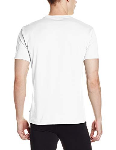 Jockey Men's T-Shirt (2714-0105-WHITE_White_L)