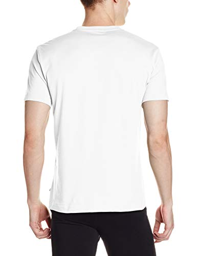 Jockey Men's T-Shirt (2714-0105-WHITE_White_M)