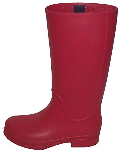 crocs Wellie Rain W 12476 Damen Gummistiefel Rosso(Cranberry / Mulberry)