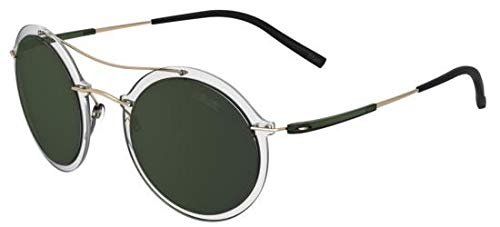 Silhouette occhiali da sole infinity collection 8705 crystal/green unisex