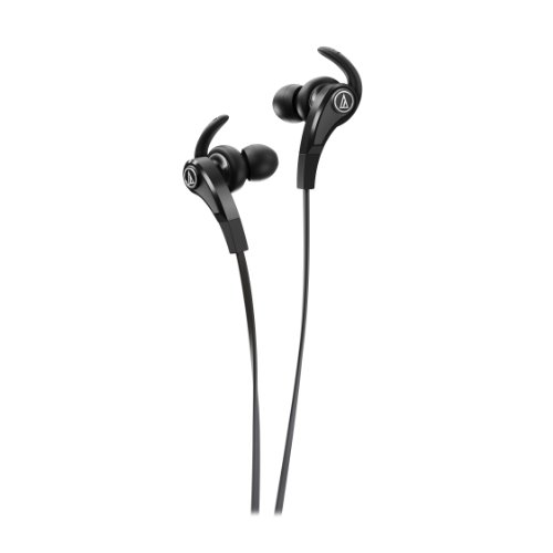 Audio-Technica ATH-CKX9 BK Sonic Fuel in-Ear Headphones, Black
