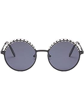 KUKI Gafas de sol de mujer con cejas en forma de perla , 3