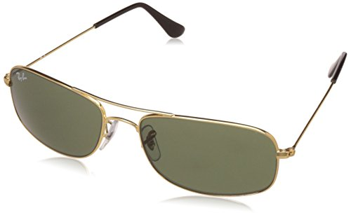 Ray-Ban UV Protected Oversized Men's Sunglasses - (0RB3335I00157|57|Crystal Green Color)