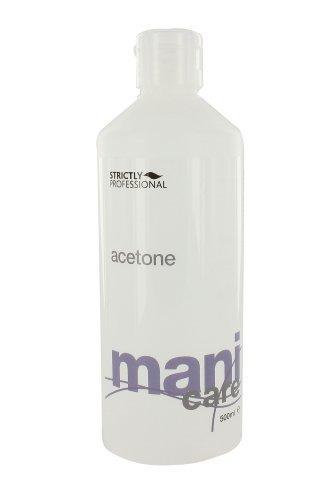 Acetona estrictamente profesional Elimina Uñas 500ml polacos y Artificiales Nails