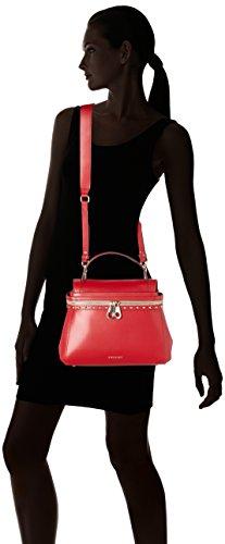 TWIN SET Aa7pgn, Borsa a Tracolla Donna, 14 x 24 x 32 cm (W x H x L) Rosso (Rubino)