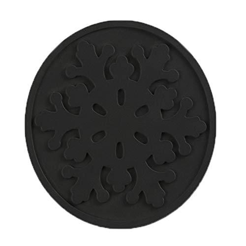 4 X Fell Filz (MAYOGO Mode Silikon Wärmedämmung Kaffee Teeblätter Untersetzer Tasse Becher Matte Pad Coaster)
