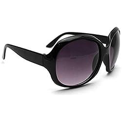 Polarizadas Wayfarer carey UV Protection de moda Diseño Gafas de sol clásicas para mujeres de los hombres Negro