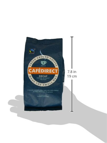 Café Direct Organic Espresso Blend Whole Beans Coffee 227 g (Pack of 6)