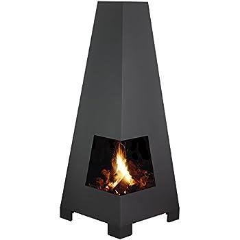 terrassenkamin feuerkorb feuerschale ofen kamin h he 120cm garten. Black Bedroom Furniture Sets. Home Design Ideas