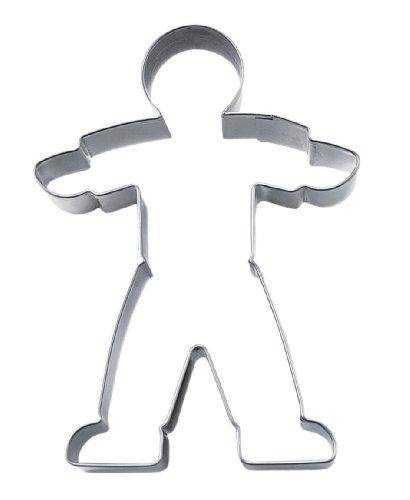 Ausstecher Junge / Mann, ca. 12 cm, Edelstahl, rostfrei