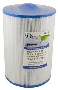 Darlly 6CH-940 Pleatco PWW50 - Cartuccia per filtro Spa Unicel