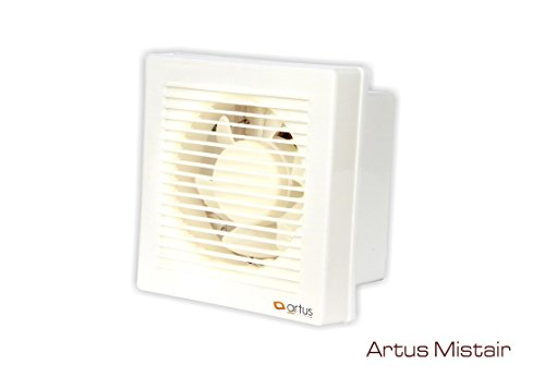 Artus Mistair High Speed Exhaust Fan White (6') Ivory