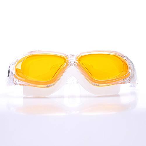 Brillenketten Schwimmbrille Outdoor Anti-fog HD Für Erwachsene Silikon Schwimmbrille Maske Fit Die Haut Große Vision Anti-UV Large Frame Wasserdichte Schutzbrille für Brille Neck Cord Sonnenbrillen St