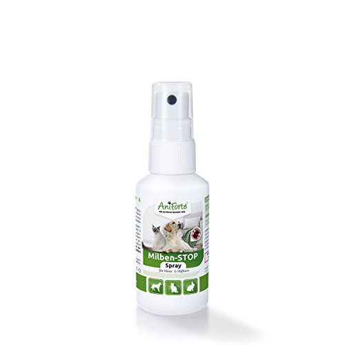 AniForte Anti Mite Spray 50 ml pour Chiens e Chats e...