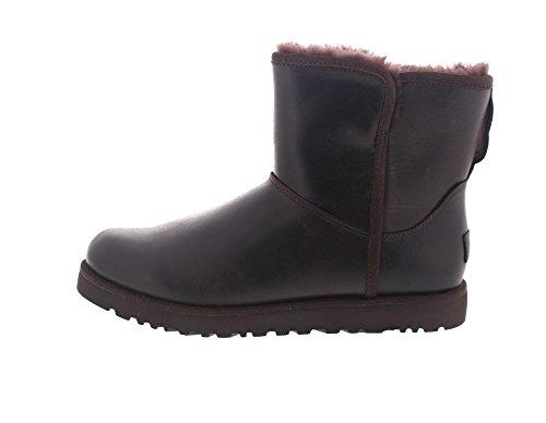 UGG - Boots CORY LEATHER 1014439 - stout Stout