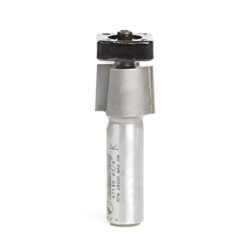 Amana Tool 47149 Laminatschneider mit Euro-Vierkantkugellager, 3/4-Durchmesser x 5/8 mm