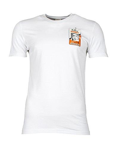 CHUNK Herren T-Shirt TROOPER SECURITY Weiß