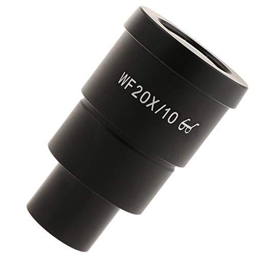 IPOTCH 20X, 10X, 0,5X Vergrößerungszylinder Auge Lupe Linse Lupe Vergrößerung Juweliere Werkzeug -