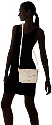 Desigual Bols_caliope Bilbao femme Sacs bandoulière Blanc (Marfil) 6x16x22 cm (B x H x T)