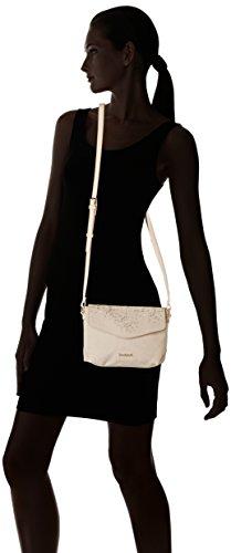 0830d735da Desigual Bols_caliope Bilbao femme Sacs bandoulière Blanc (Marfil) 6x16x22  cm (B x H x T)
