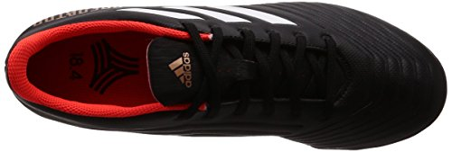 adidas Men    s Predator Tango 18 4 Tf Footbal Shoes  Black Cblack Ftwwht Solred  11 UK