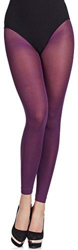 Merry Style Femme Legging Microfibre 7/8 MS 139 60 DEN Prune