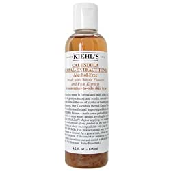 Kiehls Calendula Herbal Extract Alcohol-Free Toner - For Normal to Oily Skin Types - 125ml/4.2oz