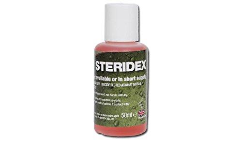 BCB Adventure  Steridex Detersivo per Mani - Transparente, 50ml [Sports]