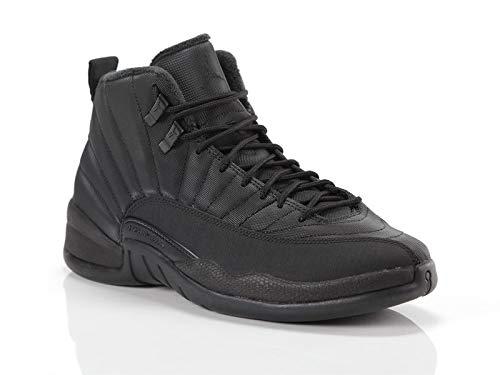Nike Herren Air Jordan 12 Retro Wntr Fitnessschuhe, Schwarz Black/Anthracite 001, 42 EU -