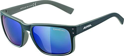 Alpina Unisex- Erwachsene KOSMIC Sonnenbrille, grün, One Size