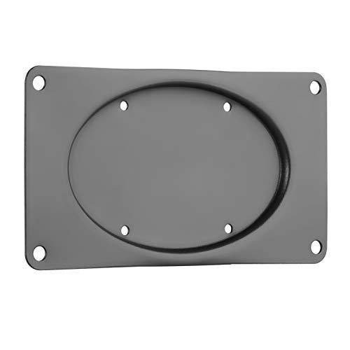 RICOO F0521, Monitor-Adapter VESA 75x75 auf 200x100, Bildschirm-Platte 23-42 Zoll (58-107 cm) für Wand-, Tisch-Halterung, Stand-Fuß, Schwarz