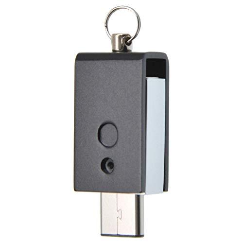 Uflatek 64 GB USB-Flash-Laufwerk Rotate Dual USB Stick 3.0 High Speed Flash Drive Imprägniern Speicher Stick Tragbar U Disk Schwarz Pendrive für Smartphone Tablet PC und Andere USB-Geräte