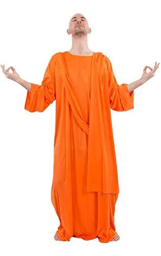 Buddhistischer Mönch Kostüm für Erwachsene (Buddhistische Kostüm)