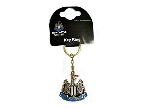 100  OFFICIAL NEWCASTLE UNITD FC CREST KEY RING