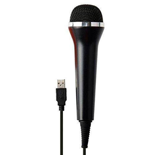 Gam3Gear Universal USB Wired Mikrofon für PS4 / PS3 / Xbox One / Xbox 360 / Wii / PC