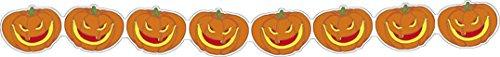 Guirlande citrouilles moqueuses 3 m Halloween - taille - Taille Unique - 230224
