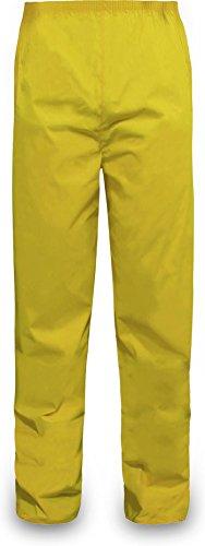 normani Outdoor Sports Regenhose für Damen und Herren wasserdicht 5000 mm für Wandern, Gassi gehen, Angeln oder Fahrad Fahren Farbe Gelb Größe XXL