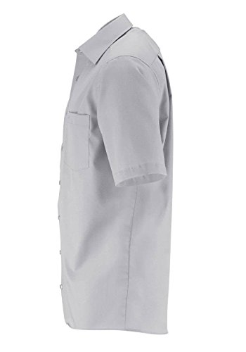 CASAMODA Herren Comfort Fit Businesshemd 8070, Silber (Anthrazit 700)