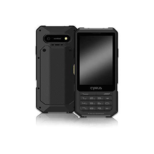 Cyrus CM17 HYBRID Outdoor Smartphone, Android 7.0 Nougat, 2500 mAh Akku, Dual SIM, 3,5 Zoll, 8GB, SOS Taste, stoßfest, staubdicht, wasserdicht, schwarz (Generalüberholt)