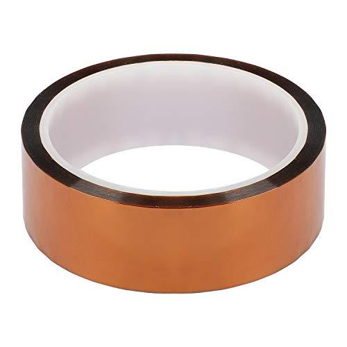 Klebeband Humor (Hyber&Cara® Polyimid-Klebeband, 30 mm x 33 m, hochtemperaturbeständiges Klebeband zum Schutz der Leiterplatte)