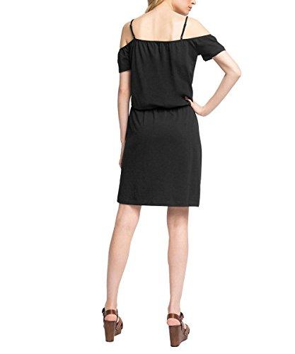 edc by Esprit 056cc1e036-Carmen Style, Robe Femme Noir (BLACK 001)