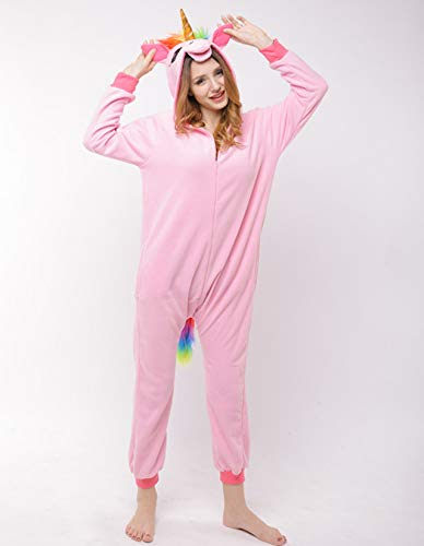 Sweetheart -LMM pile tuta unicorno pigiama per donne adulte Cartoon Animal Halloween Christmas Cosplay Onepiece costume, medium