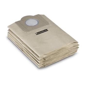 für Kärcher 2731 TE 20 Staubsaugerbeutel kompatibel zu 6.959-130.0 geeig
