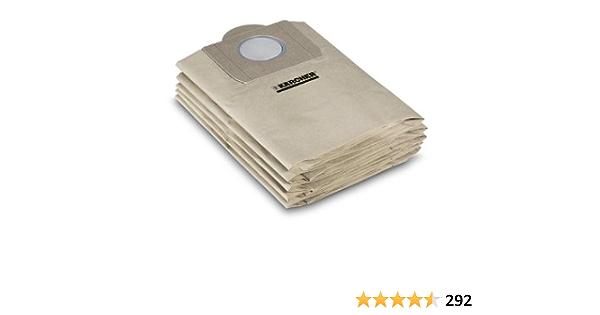 10 Staubbeutel für Kärcher 6.904-051 Staubsaugerbeutel Filter-säcke Filtertüten