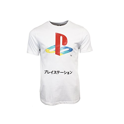 playstation-official-retro-logo-japanese-t-shirt-x-large