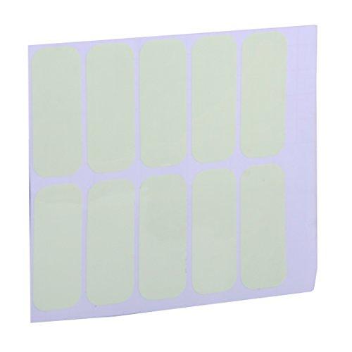 (10PCS Licht-Wandschalter Aufkleber Vinyl Decal Glow In The Dark für DIY Home Decoration)