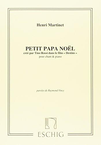 Petit Papa Noël Chant
